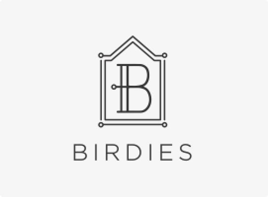 birdies client logo shoes