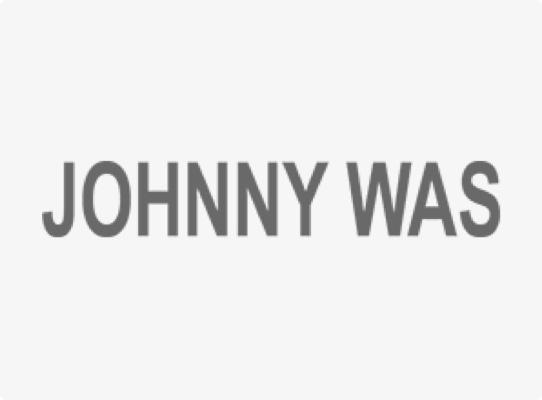 johnny was fashion apparel client logo